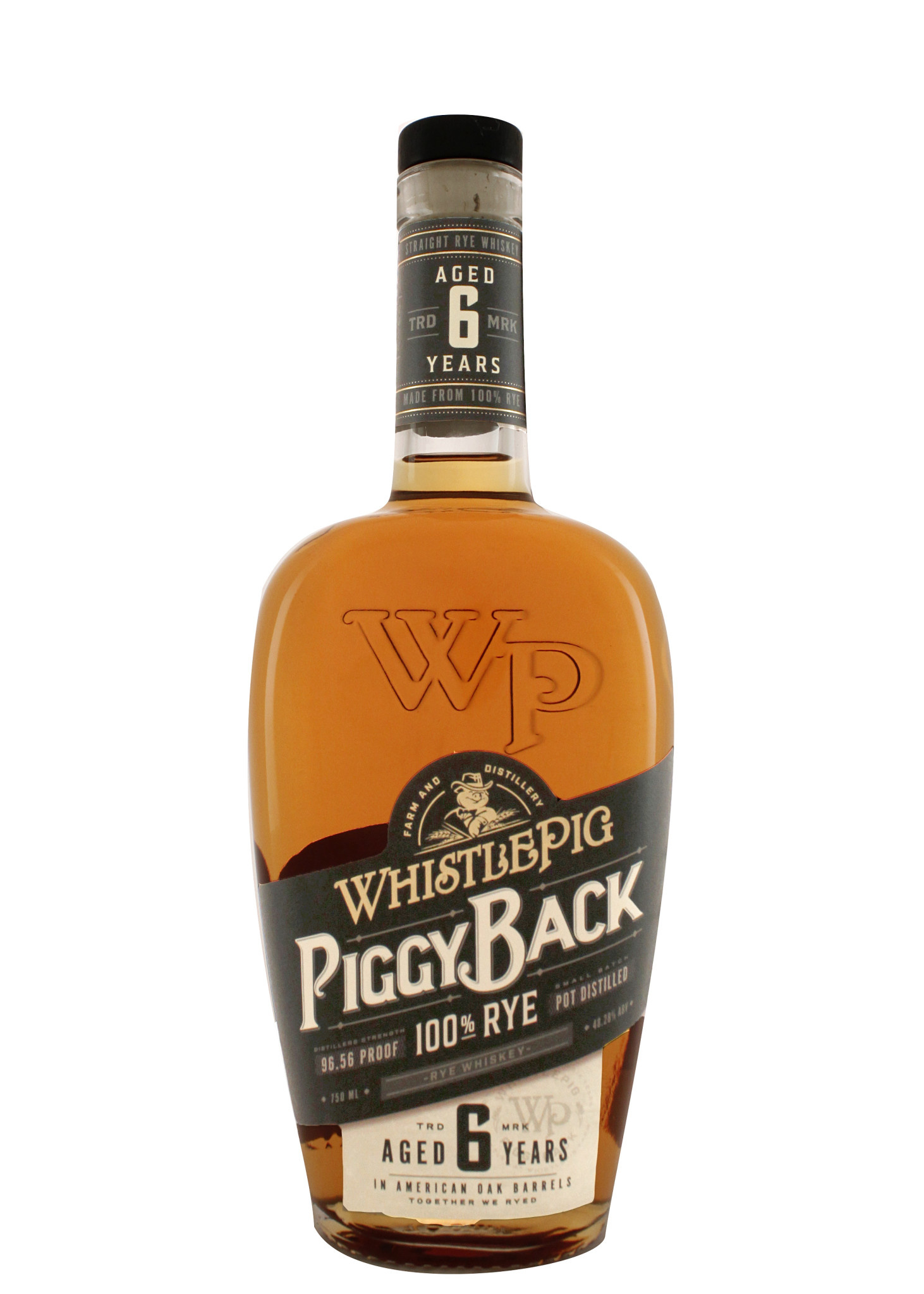 "WhistlePig 100% Rye ""PiggyBack"" Aged 6 years"