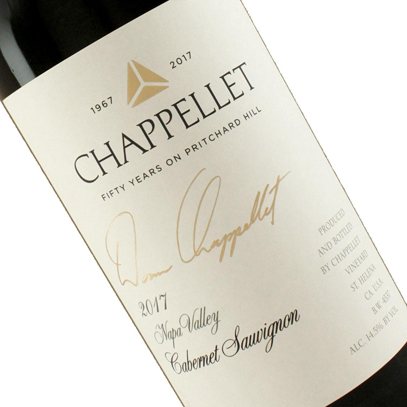 "Chappellet 2017 Cabernet Sauvignon ""Signature Reserve"" Napa Valley"