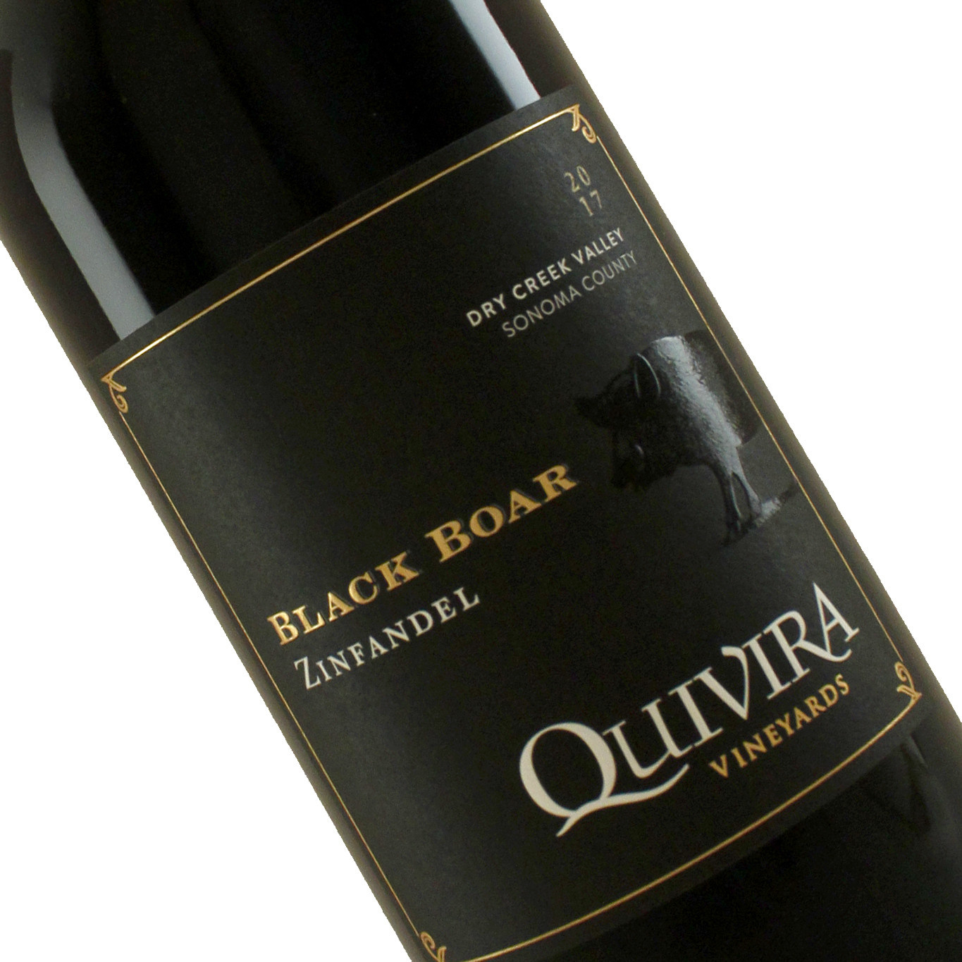 "Quivira 2017 Zinfandel ""Black Boar"" Dry Creek Valley, Sonoma County"