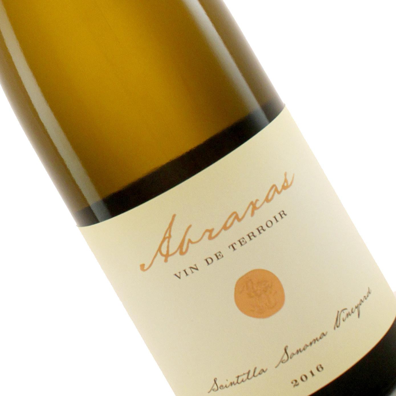 """Robert Sinskey 2016 White Wine """"Abraxas"""" Scintilla Sonoma Vineyard, Carneros"""