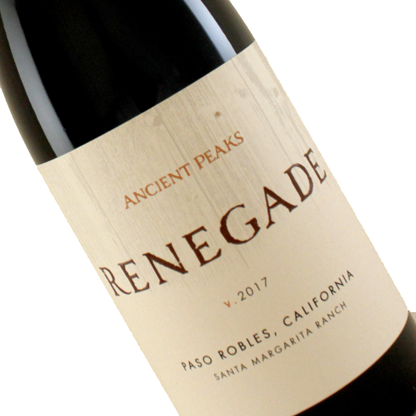 Ancient Peaks 2017 Renegade, Red Blend Paso Robles, California