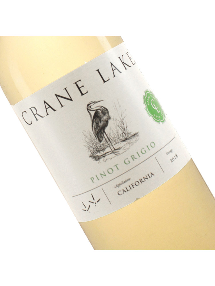 Crane Lake 2019 Pinot Grigio, California