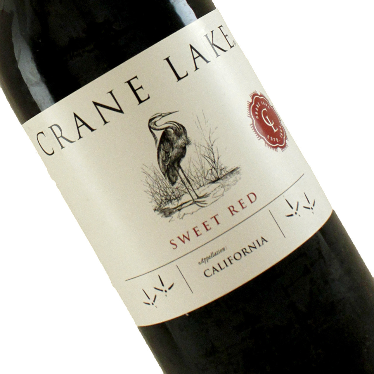 Crane Lake Sweet Red Table Wine, California