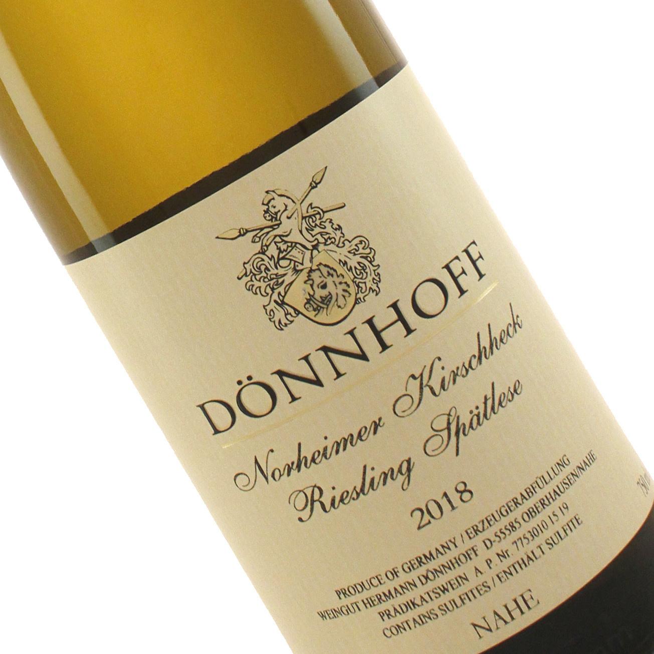 Donnhoff 2018 Riesling Spatlese Norheimer Kirschheck, Nahe