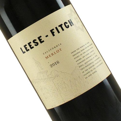 Leese-Fitch 2016 Merlot, California