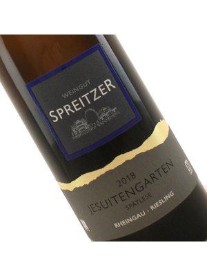 Spreitzer 2018 Winkeler Jesuitengarten Riesling Spatlese, Rheingau, Germany