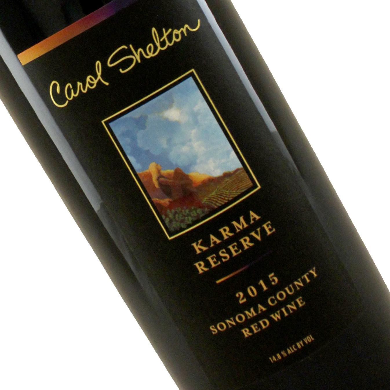 Carol Shelton 2015 Karma Reserve Red Wine, Sonoma County
