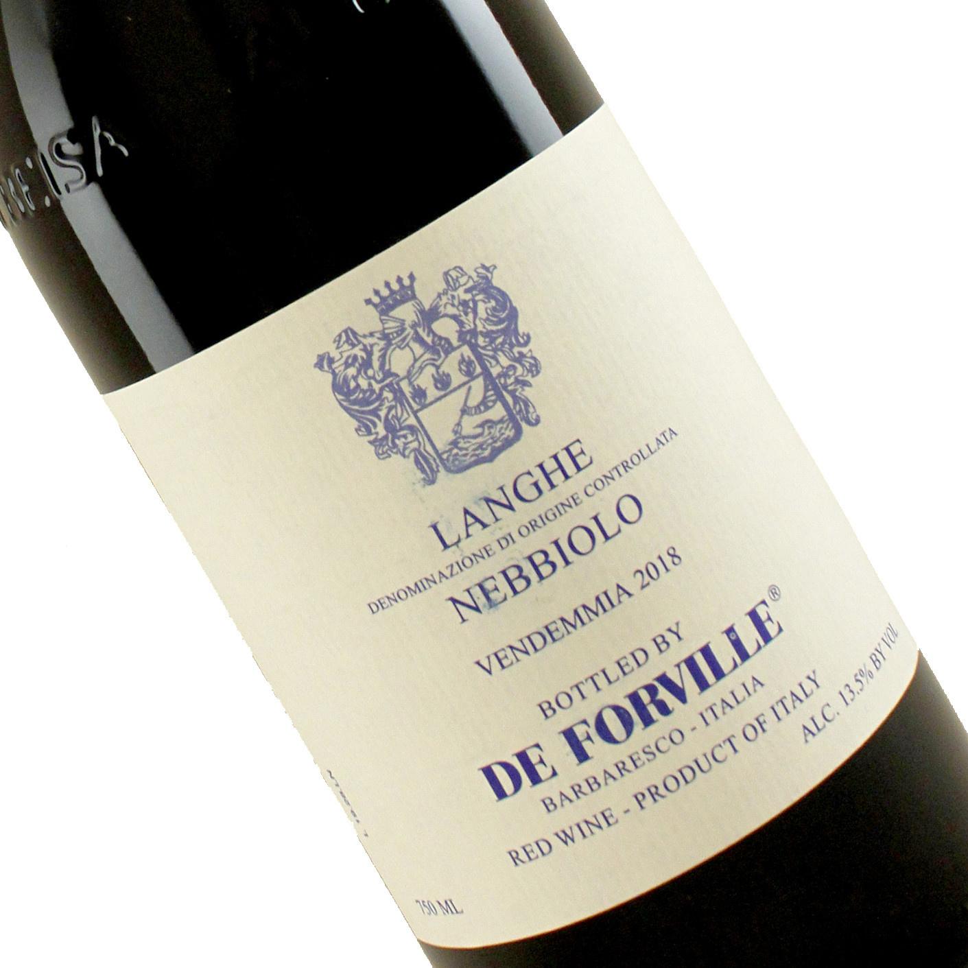 De Forville 2018 Langhe Nebbiolo , Piedmont