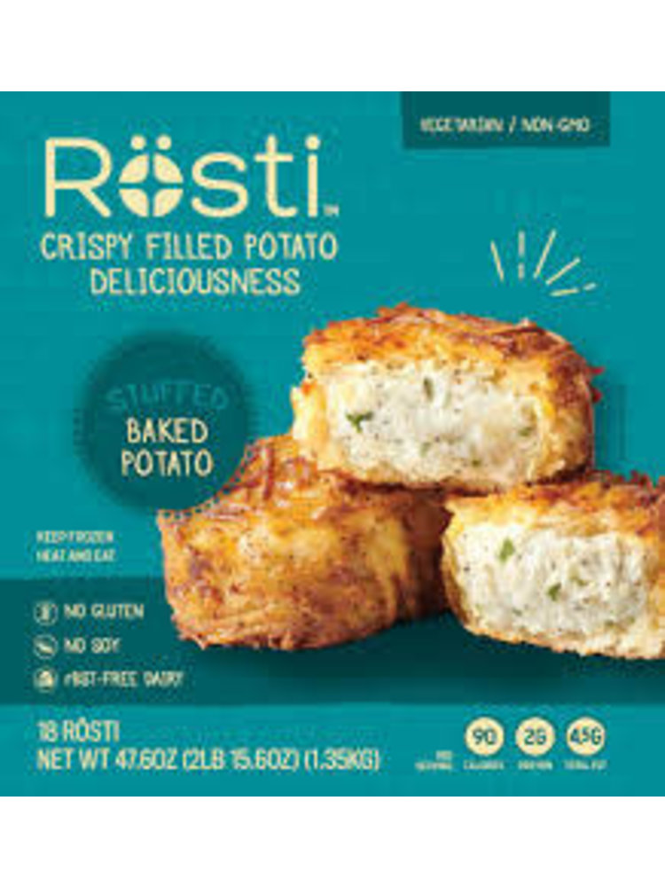 "Rosti ""Stuffed Baked Potato"" Crispy Filled Potato 4pc."