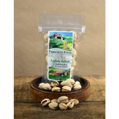 Fiddyment Farms Lightly Salted In-Shell Pistachios 2.5oz. California