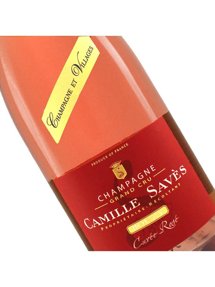 Camille Saves N.V. Brut Rose Grand Cru Champagne, Bouzy