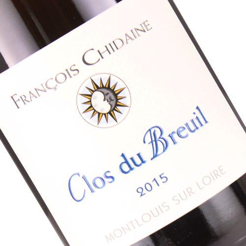 """Francois Chidaine 2017 Montlouis-sur-Loire """"Clos du Breuil"""", Loire Valley"""