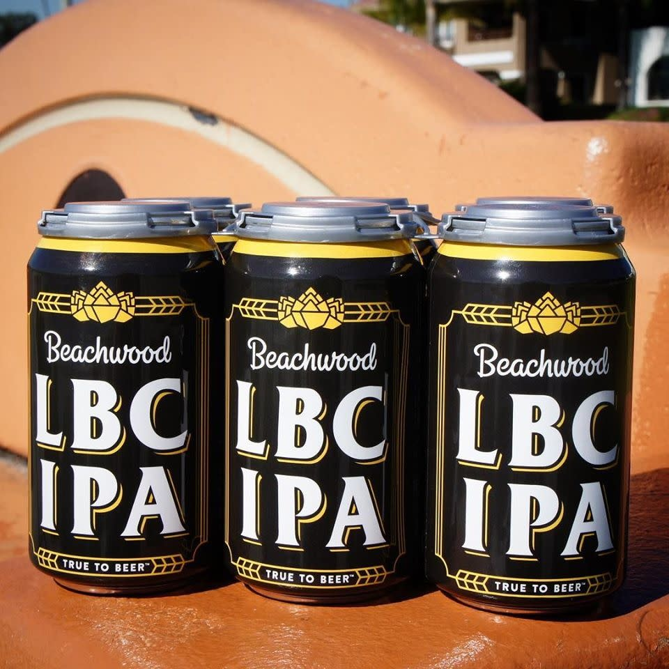 "Beachwood Brewing ""LBC IPA"" - 12oz can"