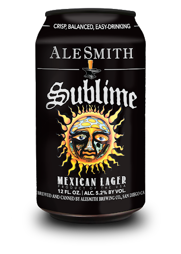 "Alesmith ""Sublime"" Mexican Lager 19.2oz Can - San Diego CA"
