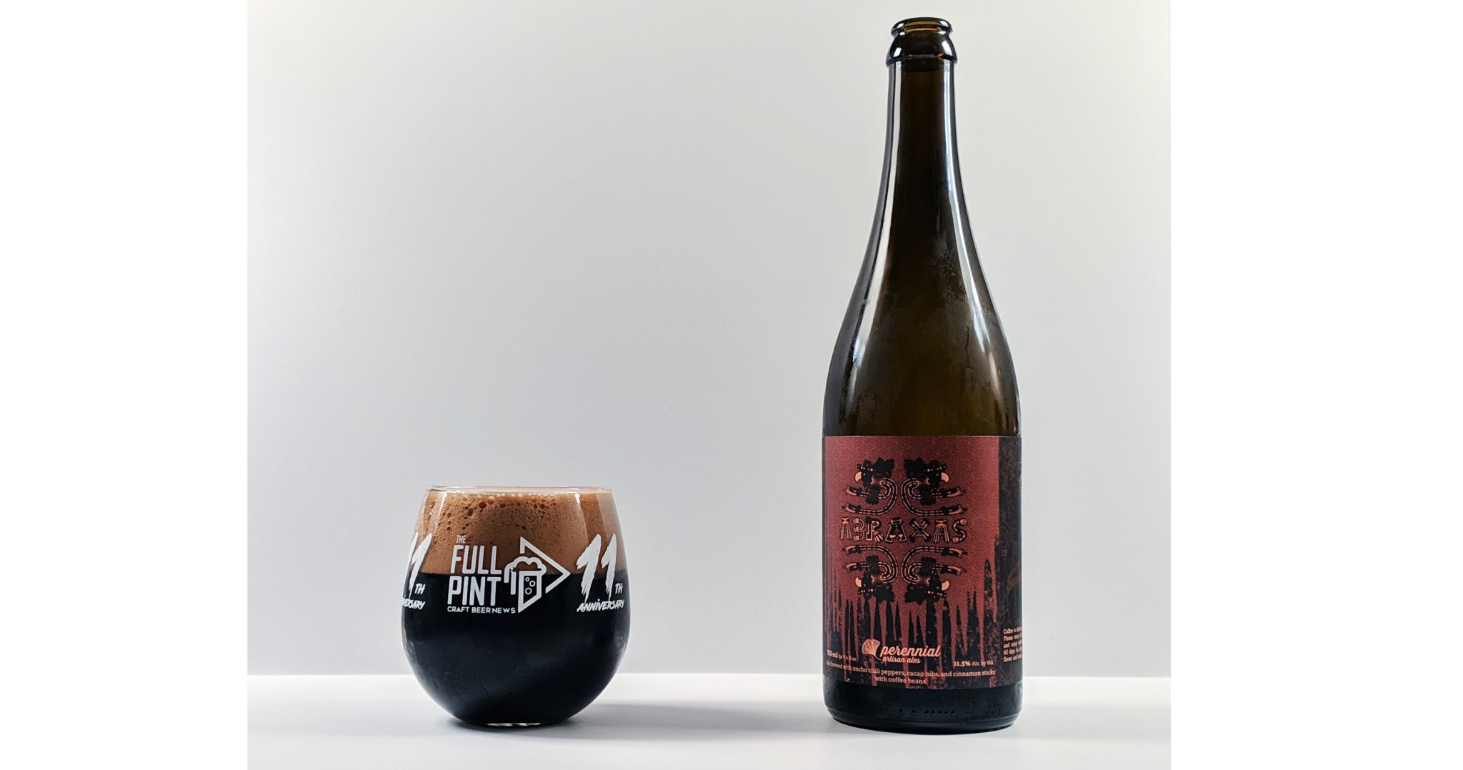 "Perennial Artisan Ales ""Abraxas"" Coffee Imperial stout 750ml Bottle- Louis, MO"