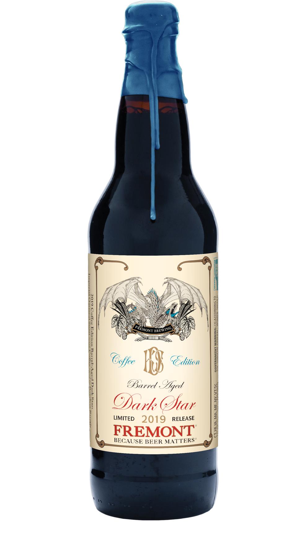 "Fremont ""Barrel Aged Dark Star: Coffee Edition"" Barrel Aged Imperial Oatmeal Stout 22oz Bottle - Seattle WA"