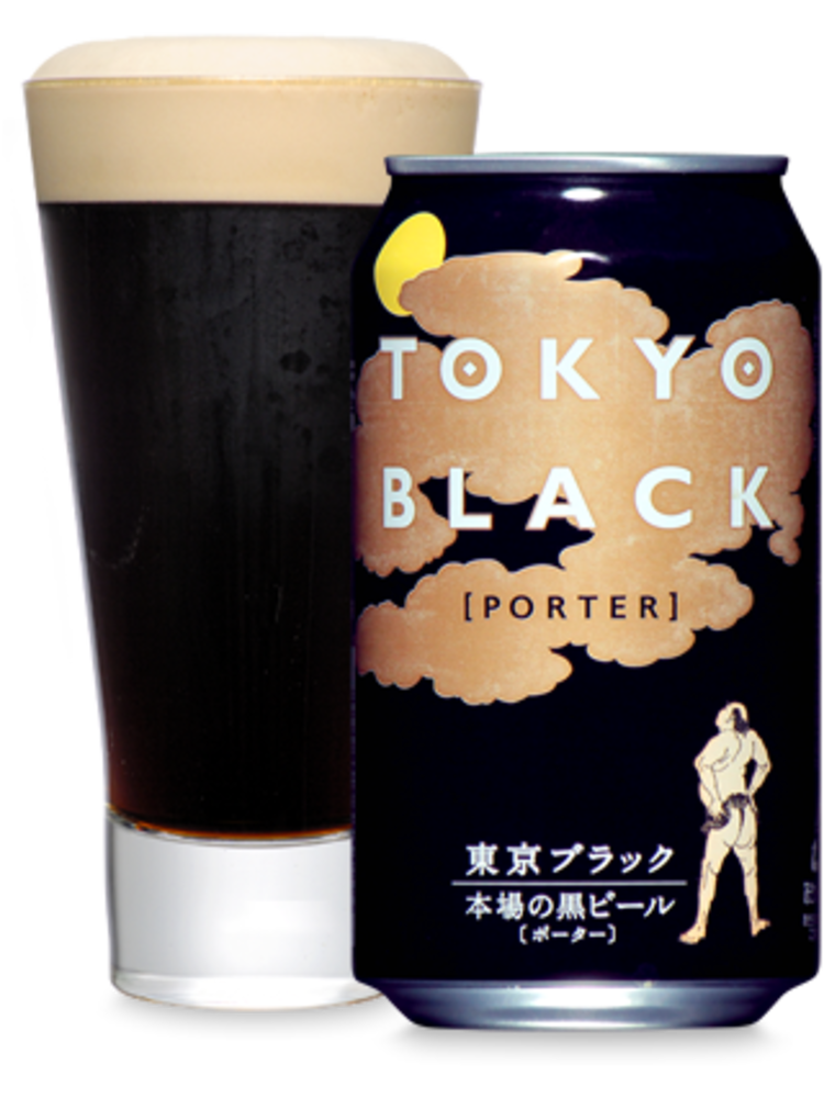 "Yoho Brewing ""Tokyo Black"" Porter 350ml. Japan"