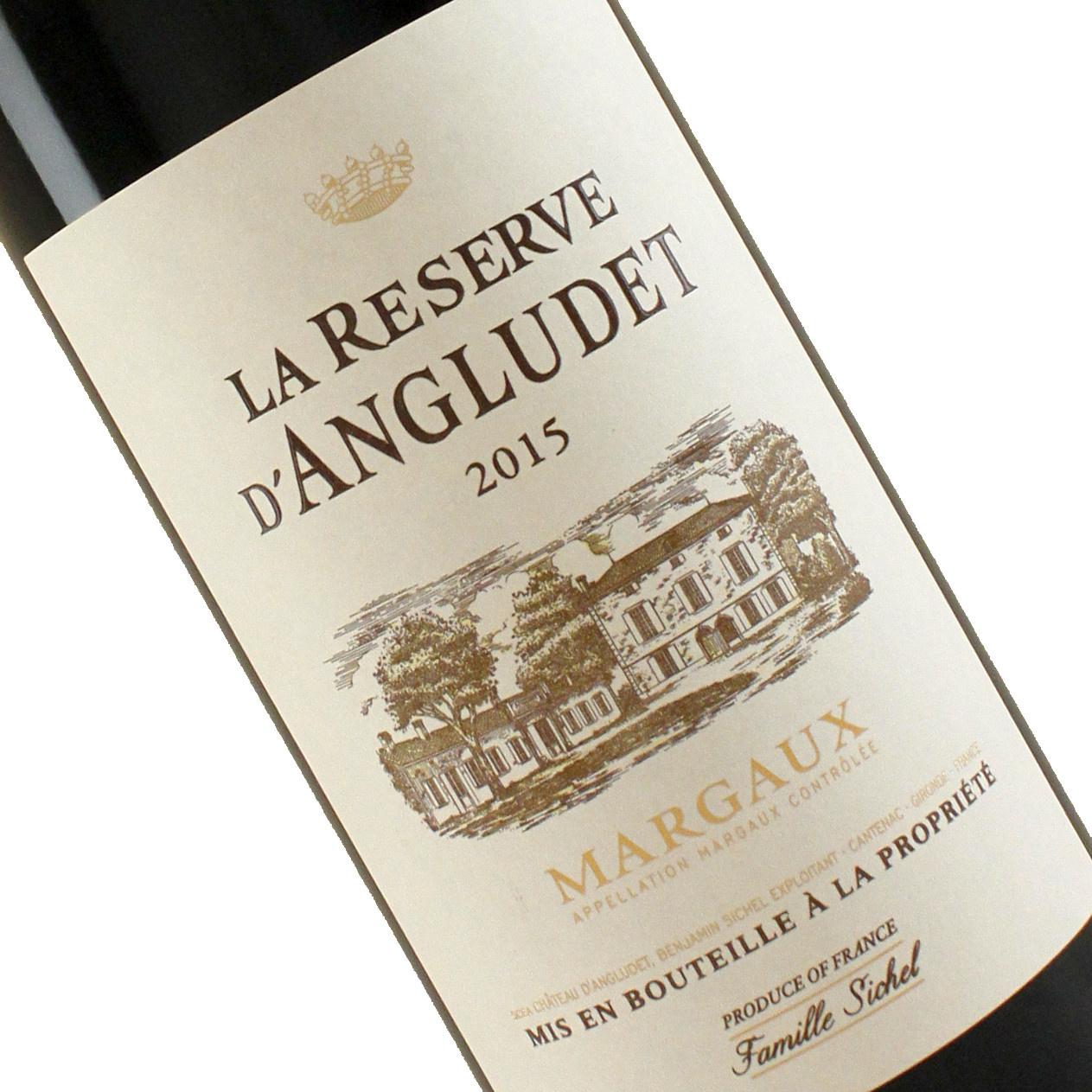 La Reserve D'Angludet 2015 Margaux Red Bordeaux