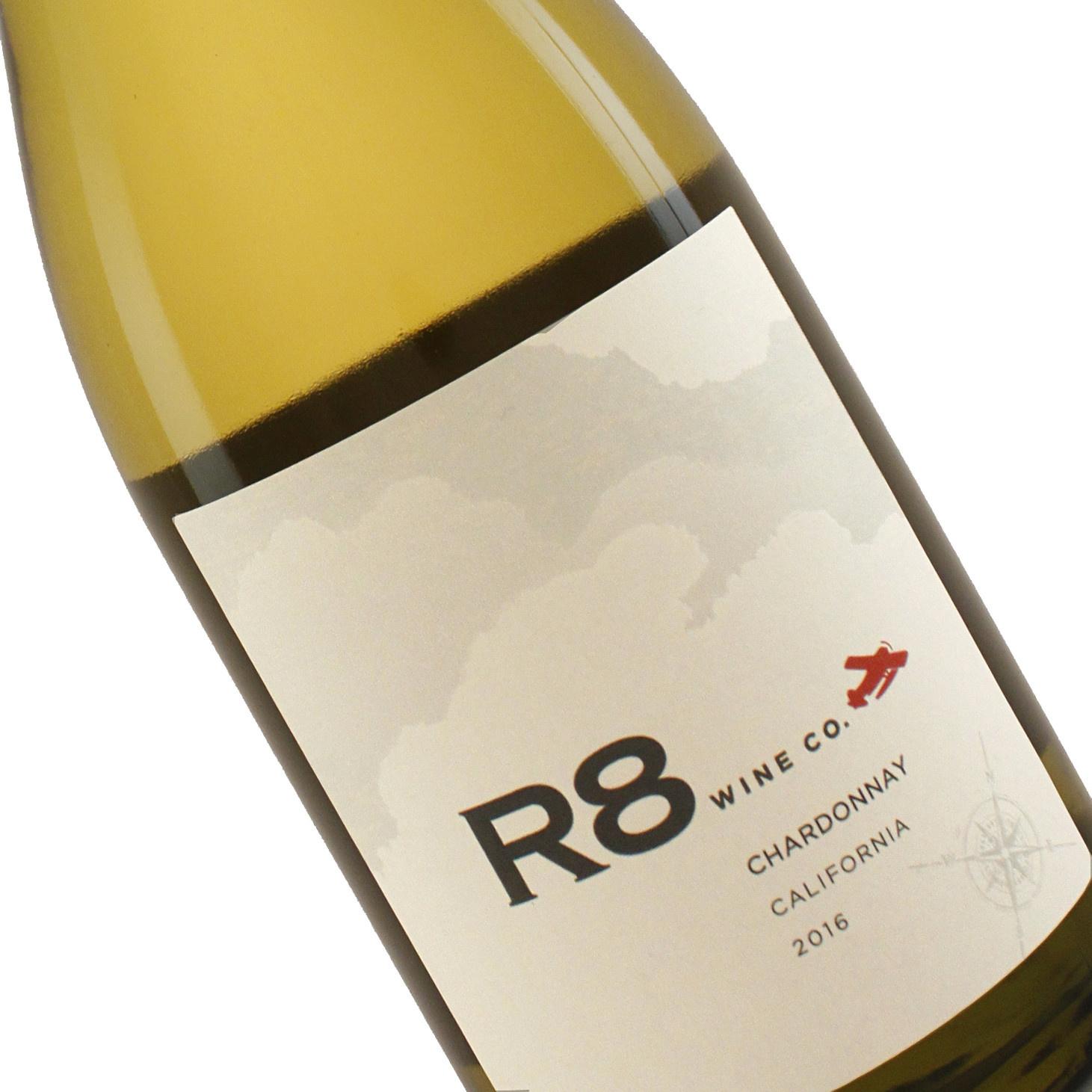 R8 Wine Co. 2016 Chardonnay, California