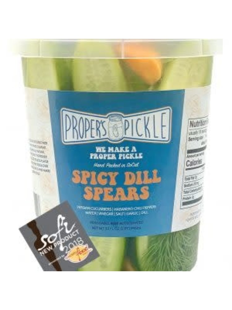 Proper's Pickle Spicy Dill Spears - 32 oz.