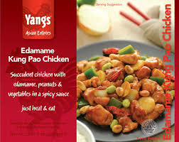 Yangs 5th Taste Edamame Kung Pao Chicken, 23 oz, USA