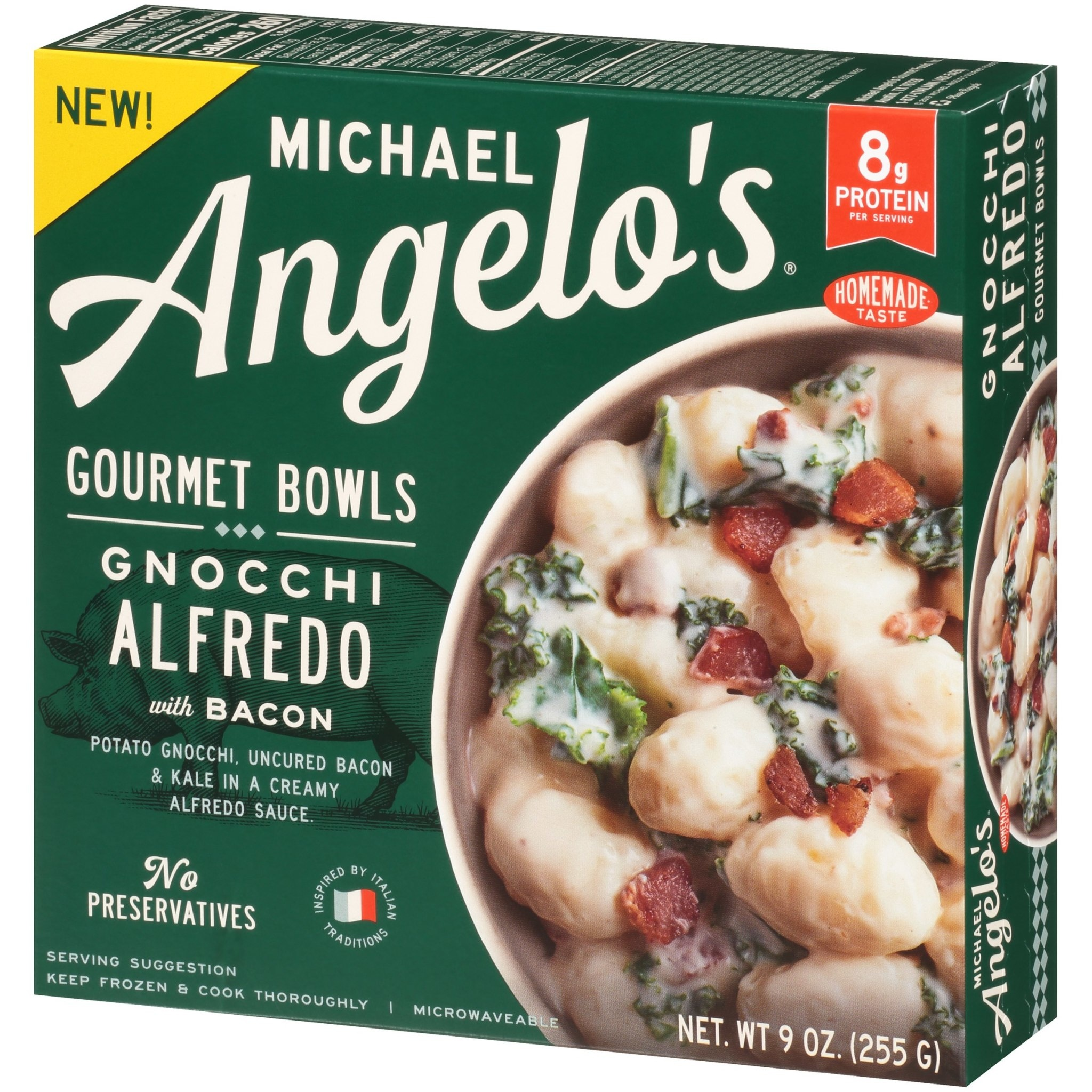 Michael Angelo's Gnocchi Alfredo Bowl, 9 oz