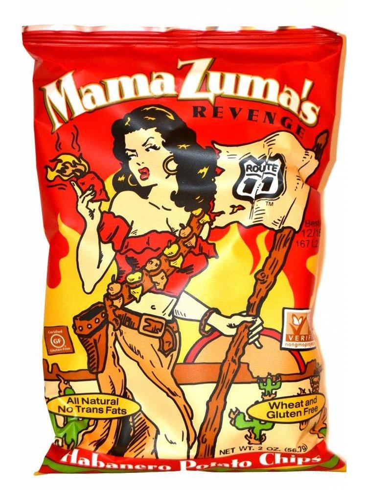 Route 11 Mama Zuma's Revenge Potato Chips Small Bag