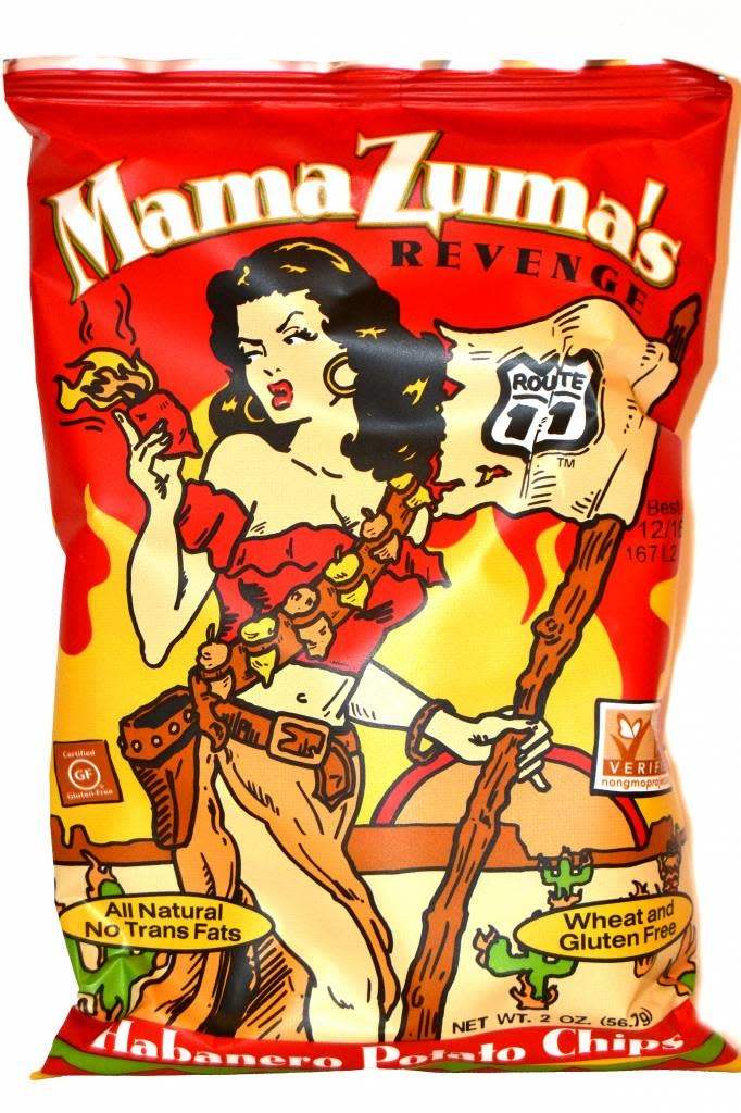 Route 11 Mama Zuma's Revenge Potato Chips Small Bag