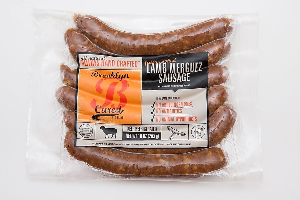 Brooklyn Cured Fully Cooked Lamb Merguez Sausage, Brooklyn, NY