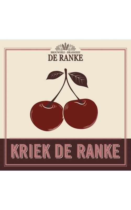 """Brouwerij De Ranke """"Kriek De Ranke"""" Belgian Sour Ale w/Cherries 750ml. Belgium"""