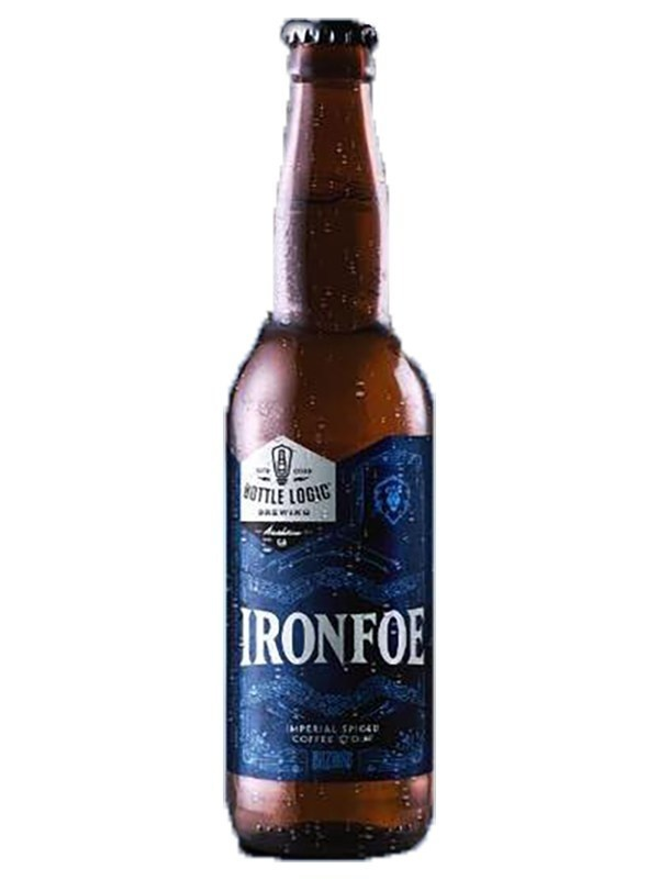 "Bottle Logic ""Ironfoe"" Imperial Spiced Coffee Stout 500ml Anaheim, CA"