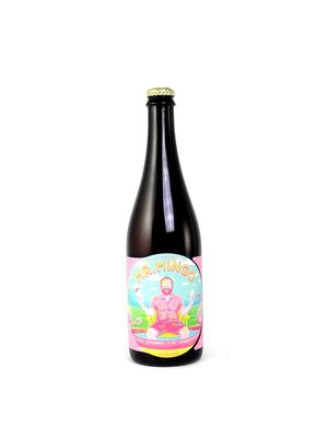 "Jester King Brewery ""Mr Mingo"" Farmhouse Ale w/ HIbiscus 750ml. Austin, TX"