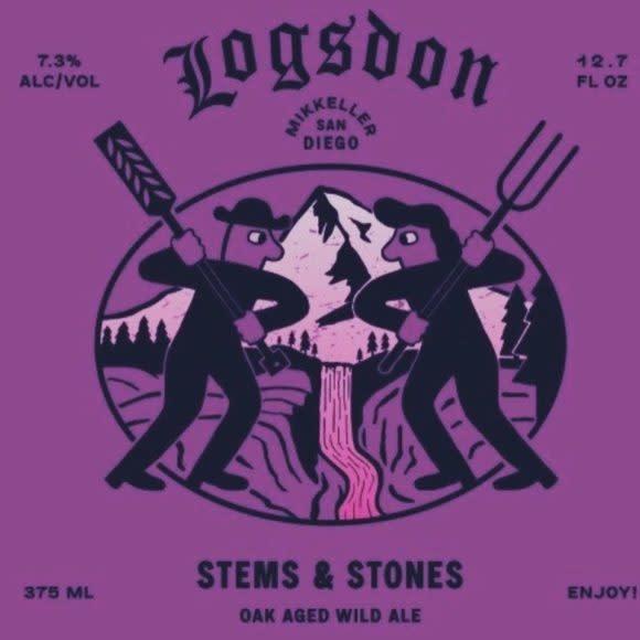"Logsdon Farmhouse Ales ""Stems & Stones"" 375ml. Hood River, OR"