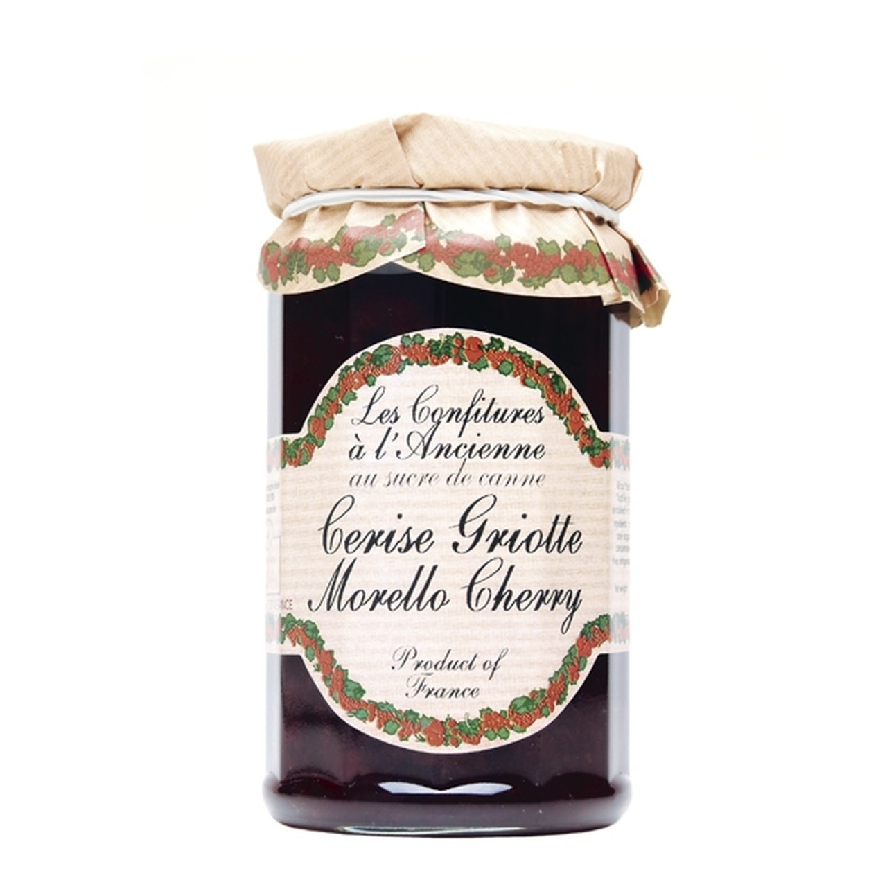 Andresy Morello Cherry Jam, Ile de France, 9 oz.