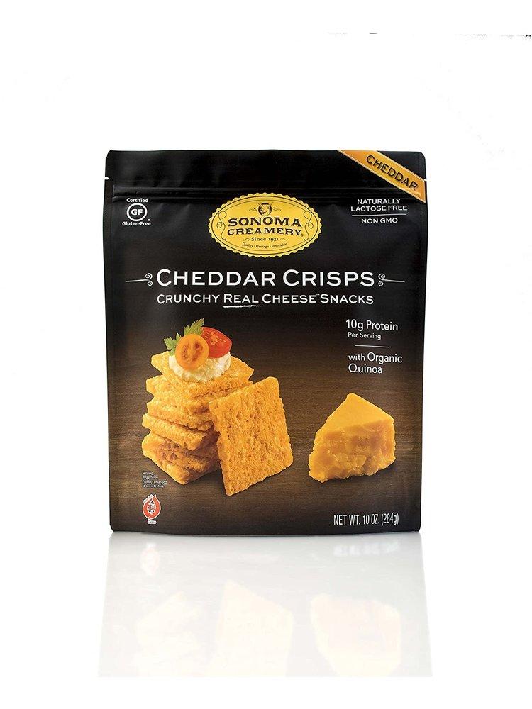 Sonoma Creamery Cheddar Crisps