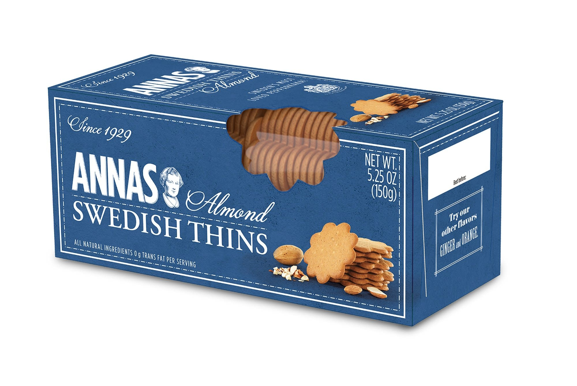 Annas Almond Swedish Thins