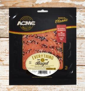 """Acme Smoked Fish """"Everything Bagel"""" Smoked Salmon 4 oz."""