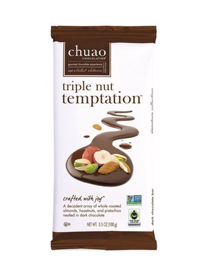 Chuao Triple Nut Temptation Chocolate Bar, Carlsbad, CA