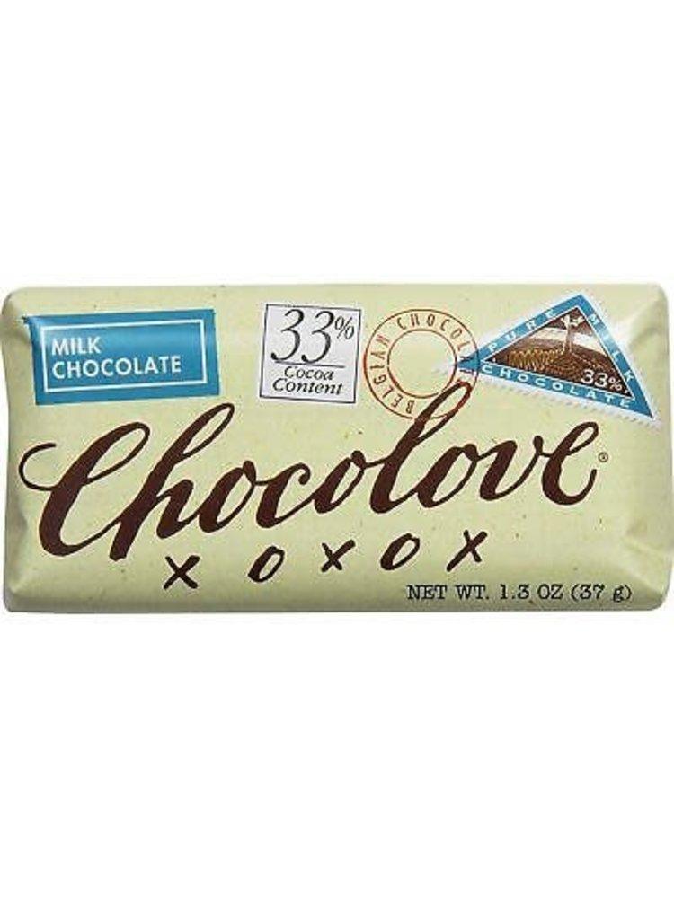 Chocolove Milk Chocolate Mini Bar, Boulder, 1.3 oz.