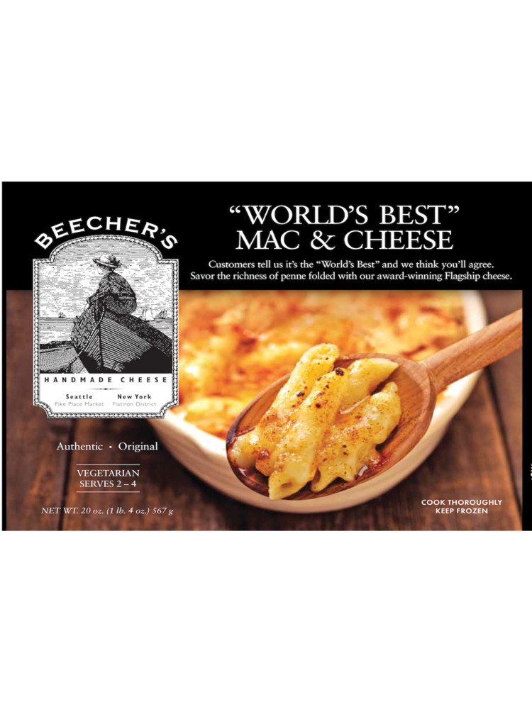 """Beecher's """"World's Best"""" Mac & Cheese 20 oz."""
