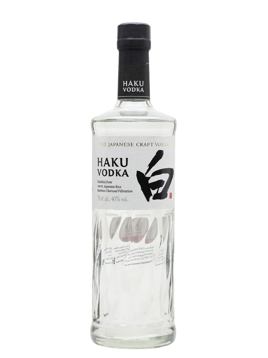 "Suntory ""Haku"" Japanese Vodka"
