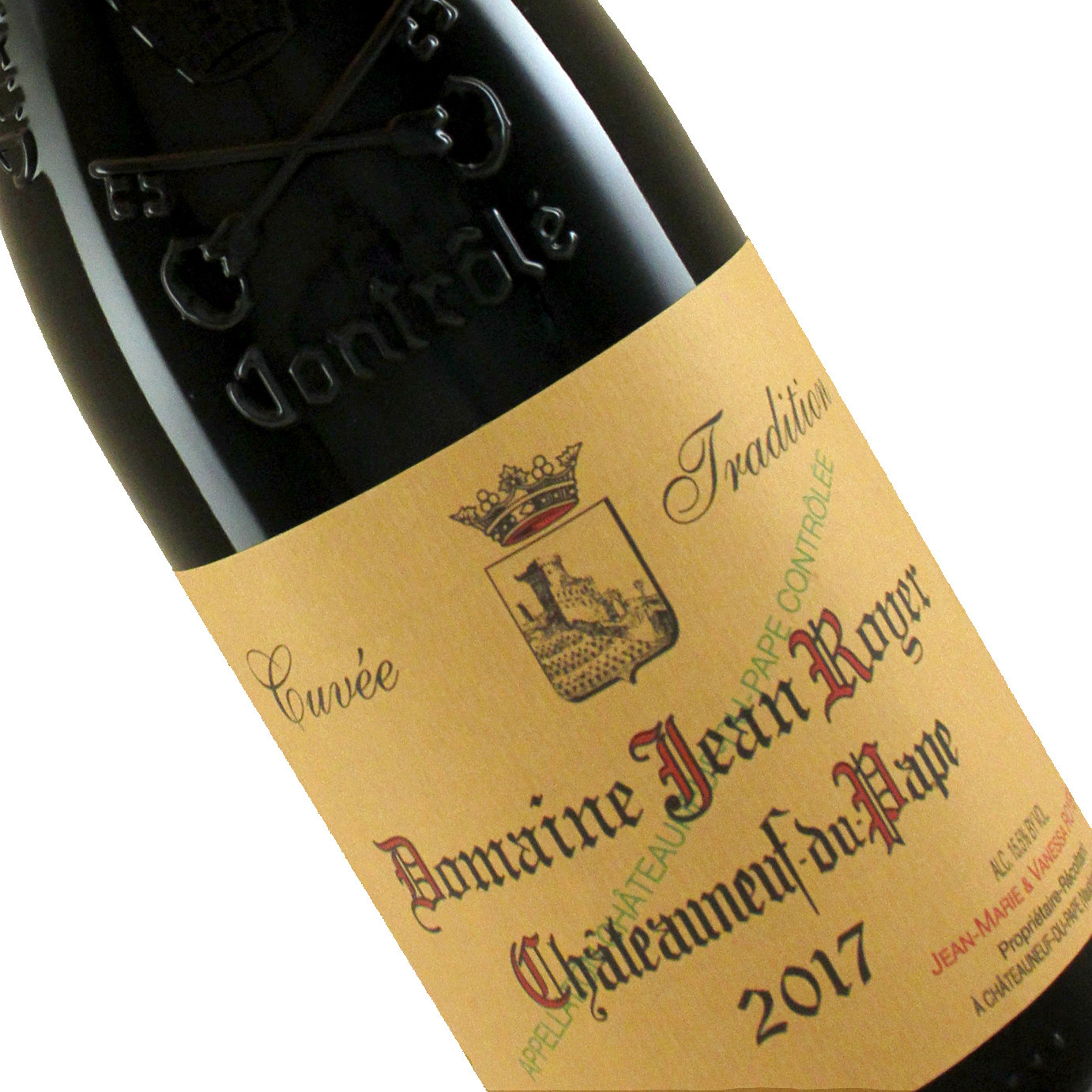 Domaine Jean Royer 2017 Chateauneuf du Pape, Cuvee Tradition
