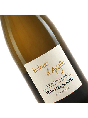 """Vouette & Sorbee N.V. Champagne """"Blanc d'Argile"""" Brut Nature"""
