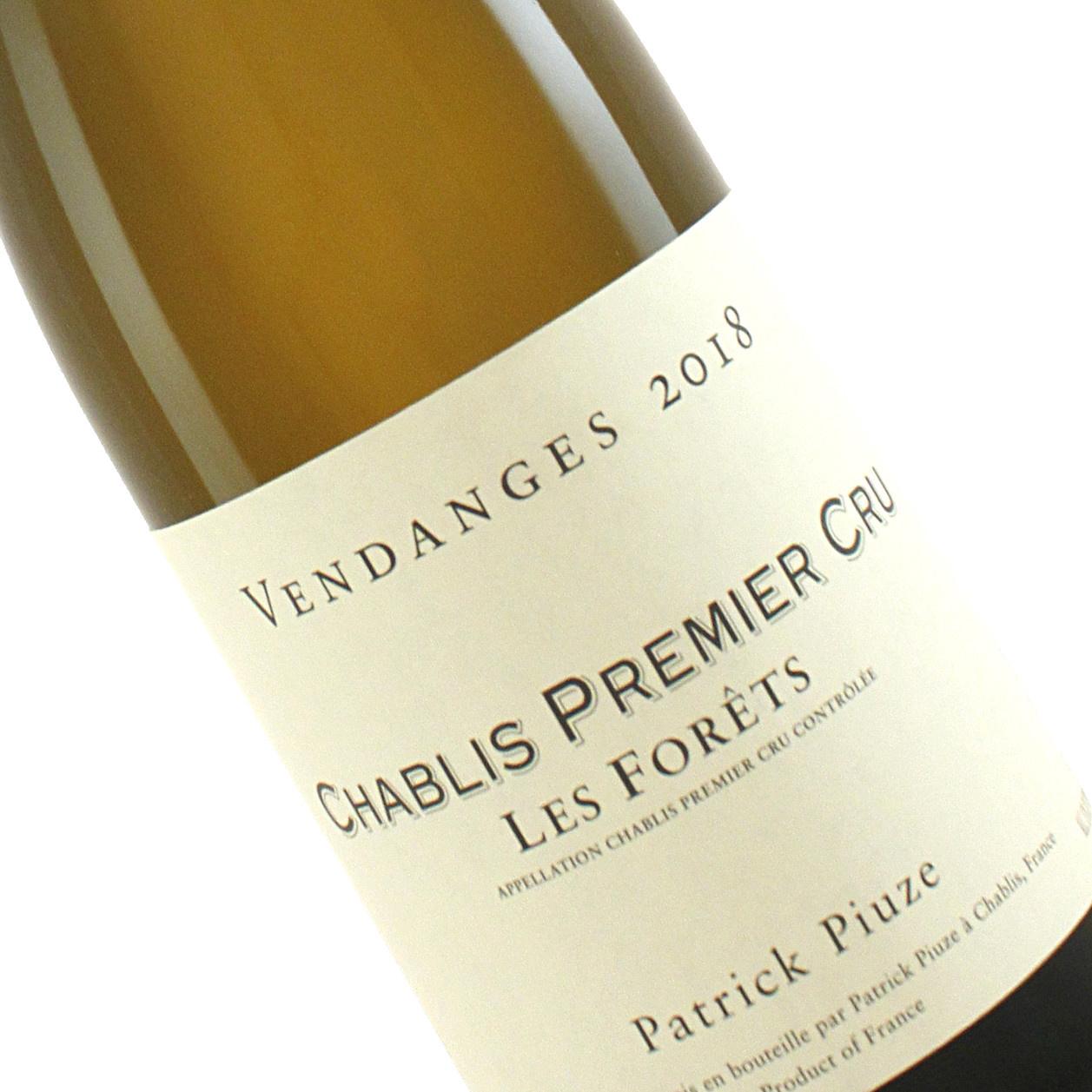 """Patrick Piuze 2018 """"Les Forets"""" Chablis Premier Cru, Burgundy"""