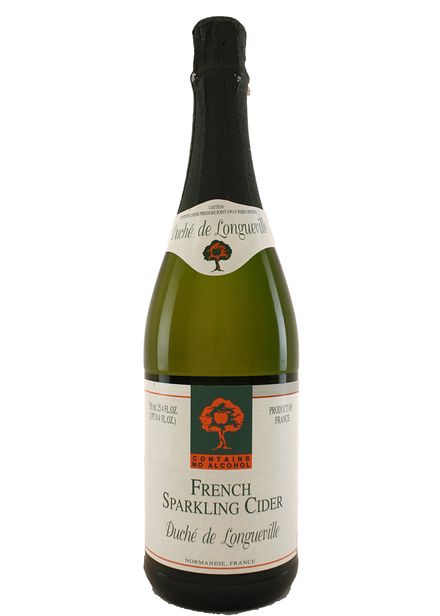 Duche de Longueville Non-Alcoholic French Sparkling Cider