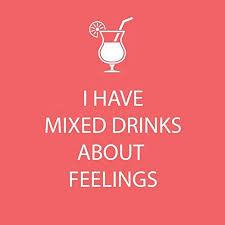 """Napkin - PPD """"I Have Mixed Drinks..."""""""
