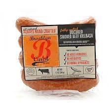 Brooklyn Cured Smoked Beef Kielbasa, Uncured