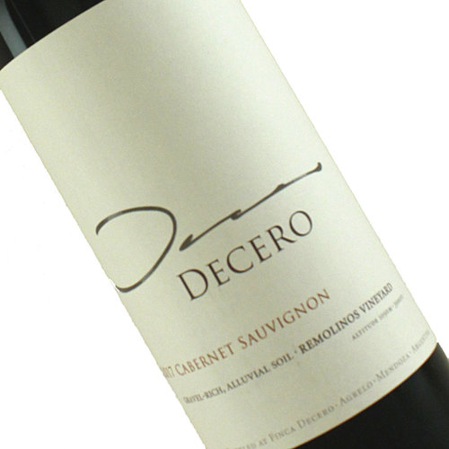 Decero 2017 Cabernet Sauvignon Remolinos Vineyard Mendoza, Argentina