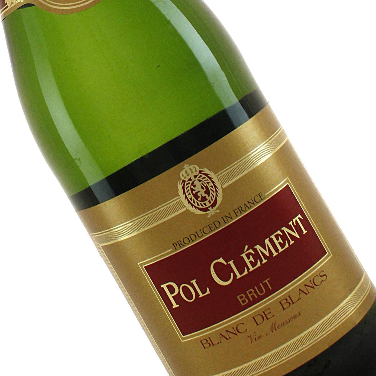 Pol Clement N.V. Blanc de Blancs Brut Sparkling Wine, France