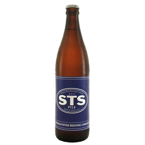 "Russian River Brewing Co ""STS PILS"" Pilsner 500ml Bottle - Santa Rosa CA"